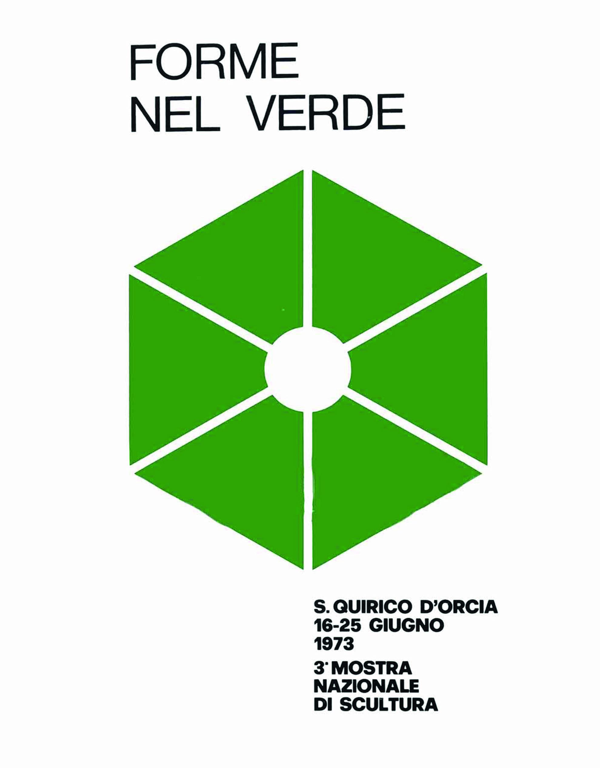 Catalogo Forme nel Verde 1973