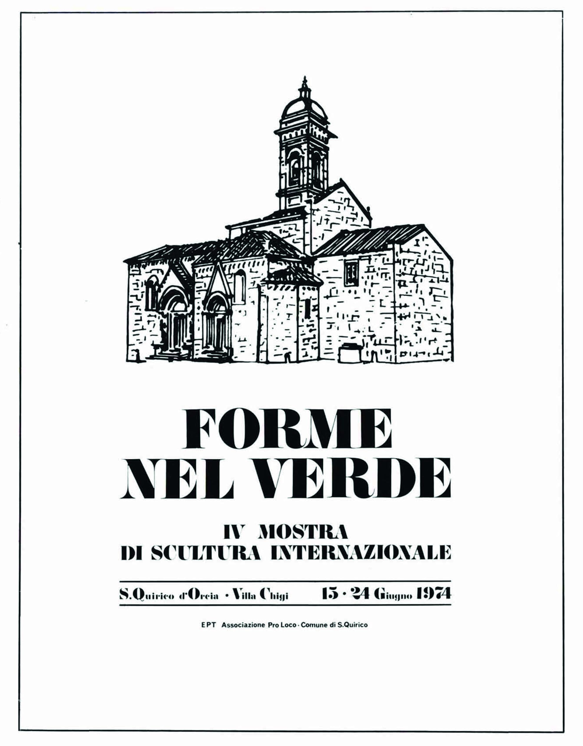Catalogo Forme nel Verde 1974