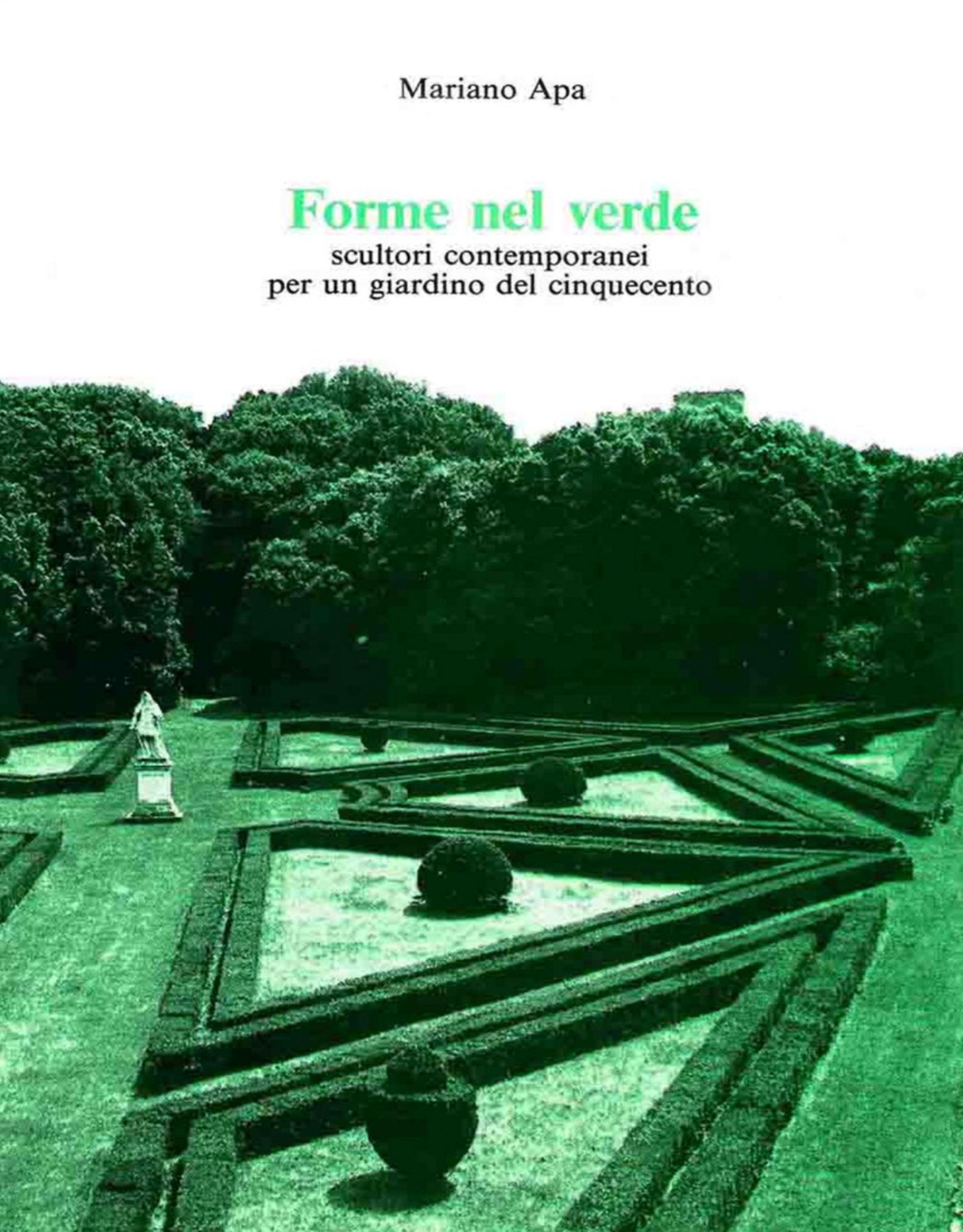 Catalogo Forme nel Verde 1985