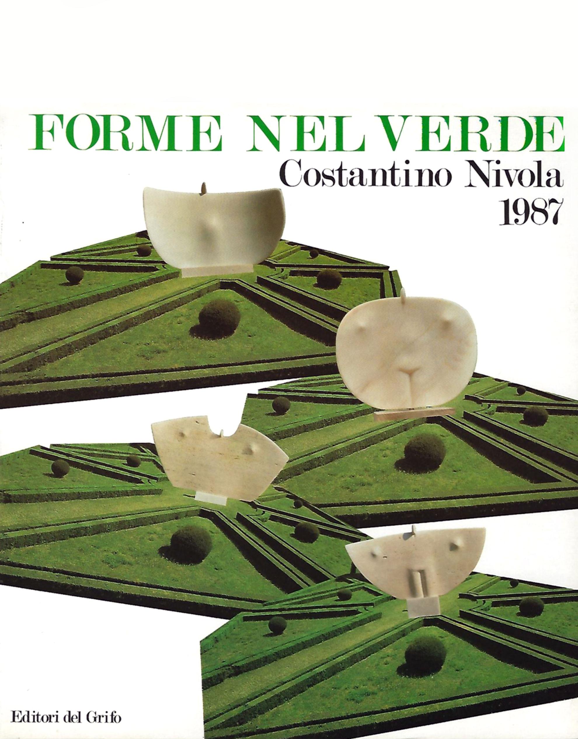 Catalogo Forme nel Verde 1987