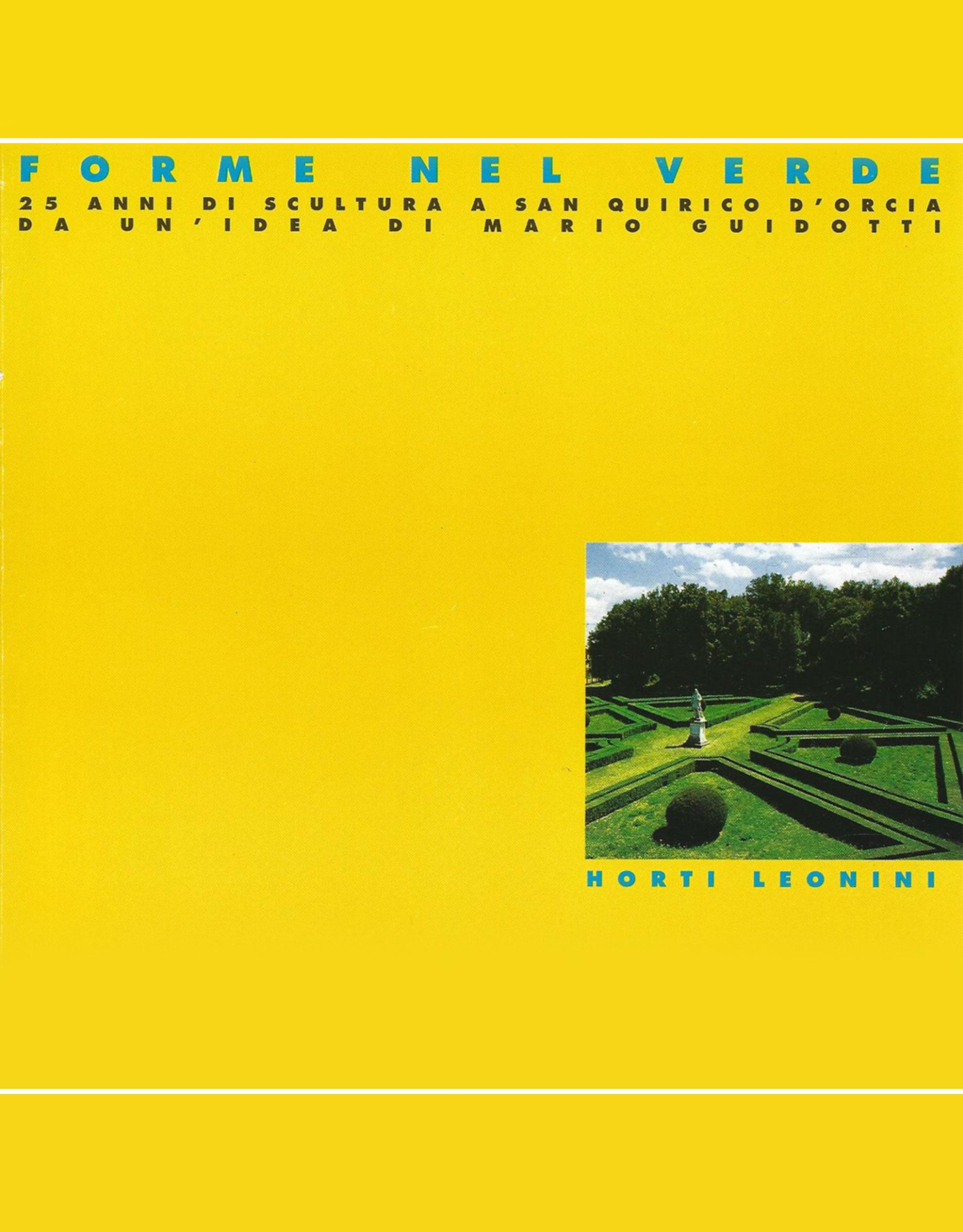 Catalogo Forme nel Verde 1995