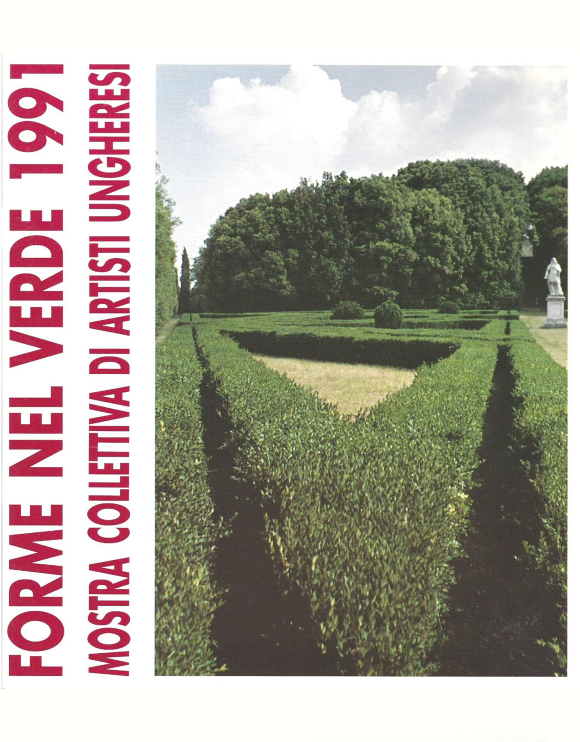 Catalogo Forme nel Verde 1991