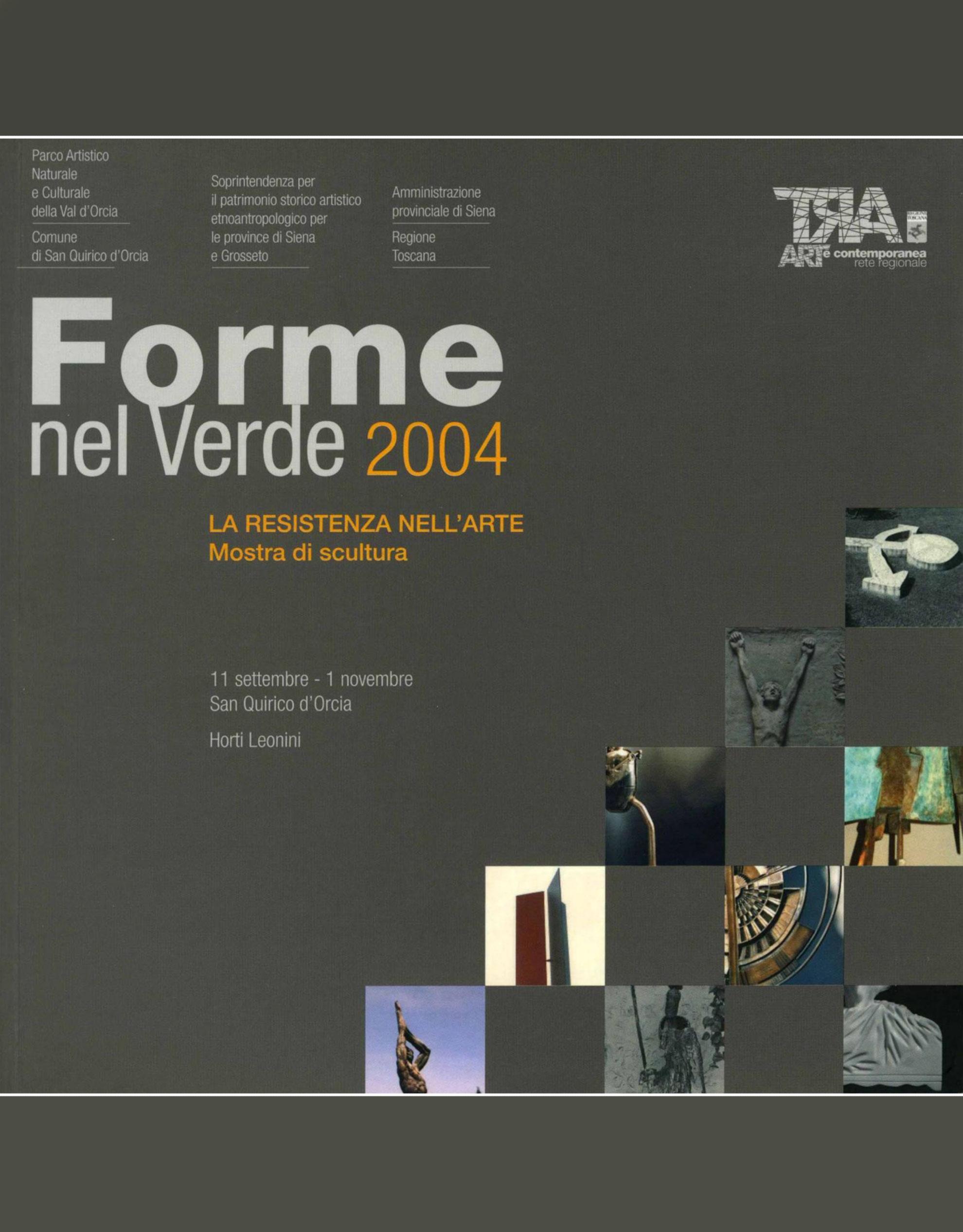 Catalogo Forme nel Verde 2004