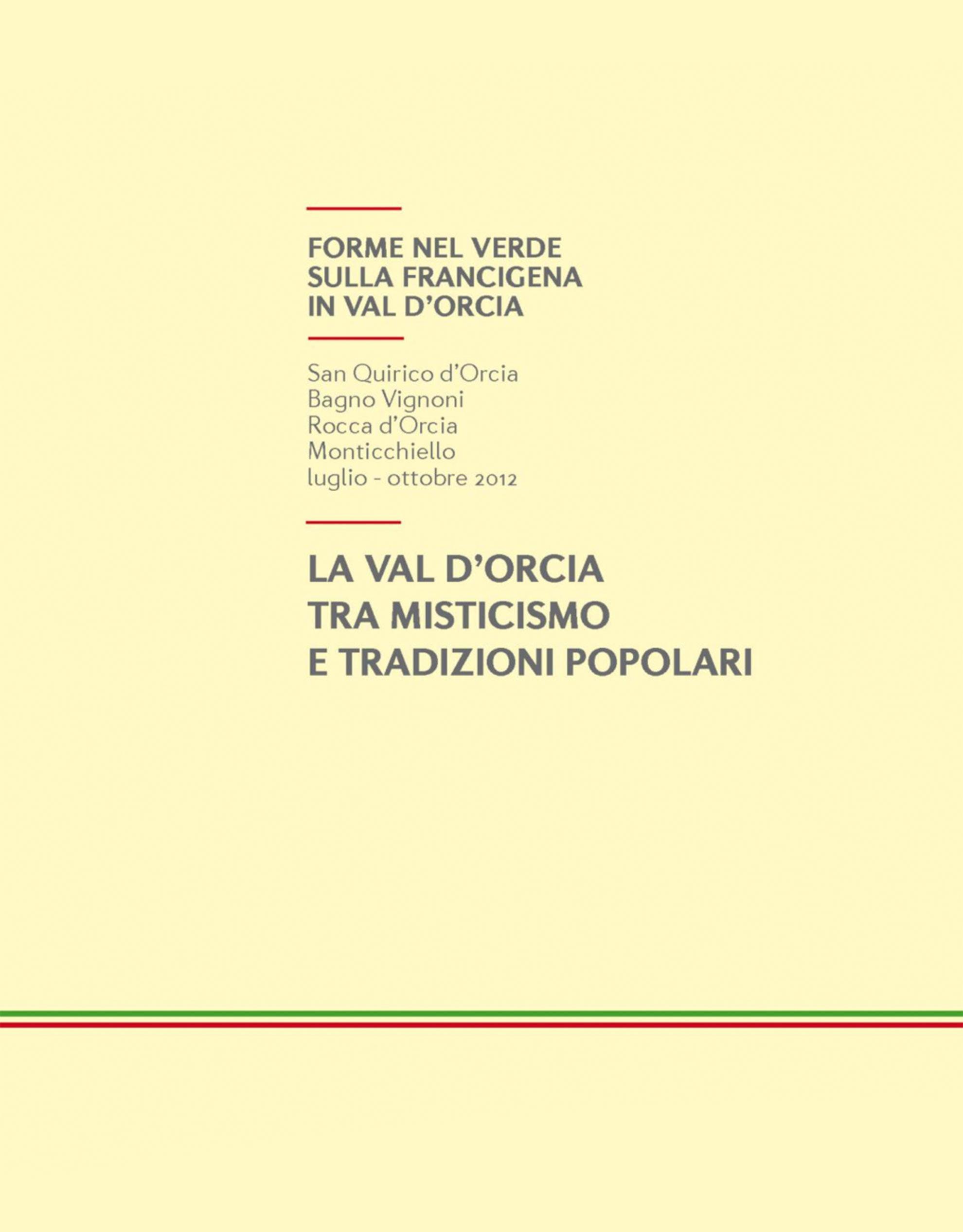 Catalogo Forme nel Verde 2012