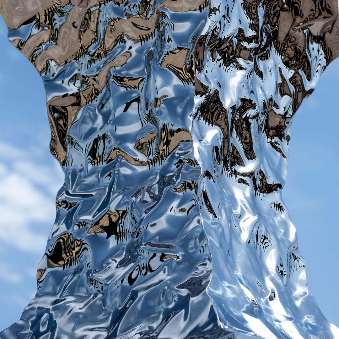 forme nel verde, helidon xhixha, san quirico d'orcia, arte contemporanea